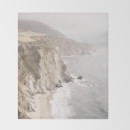 Big Sur California Throw Blanket