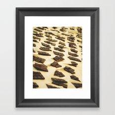 Chocolate en Sant Antoni Framed Art Print