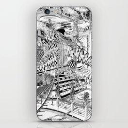 LA DIMENSIÓN DE CALABI-YAU O UNA TARDE EN EL BELLAGIO iPhone Skin