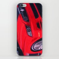 boss iPhone & iPod Skins featuring Boss by Brian David