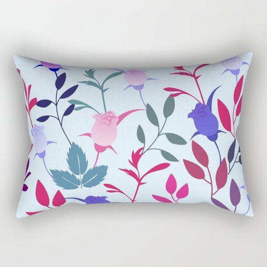 Flower Pattern III Rectangular Pillow