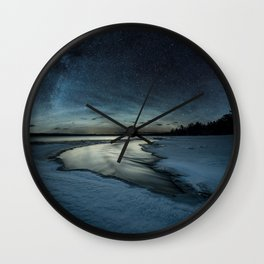 Frozen Air Glow Wall Clock