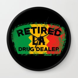 RDD L.A. Wall Clock