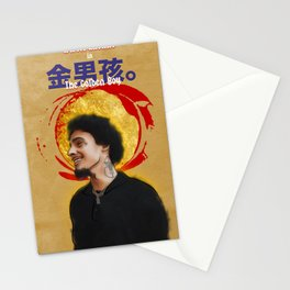 """The Golden Boy"" ft Wifisfuneral (2017) Stationery Cards"