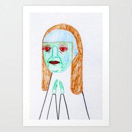 blue jay way.  Art Print