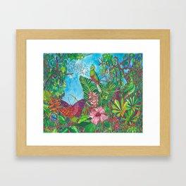 The Three Secrets of the Selva Framed Art Print
