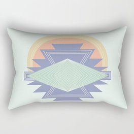 PASTEL DREAM RAYS Rectangular Pillow