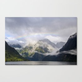Rainbow to Nowhere Canvas Print