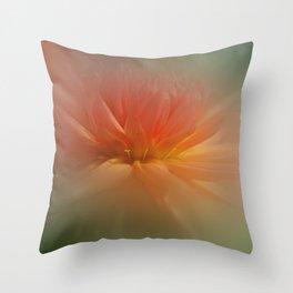 Dream Dahlia Throw Pillow