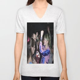 Grimes Dancing in Brooklyn  Unisex V-Neck