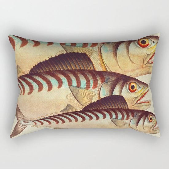 Fish Classic Designs 8 Rectangular Pillow