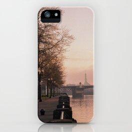 Willamette Riverfront, Portland, Oregon iPhone Case