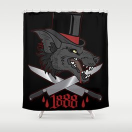 Whitechapel Wolf Shower Curtain
