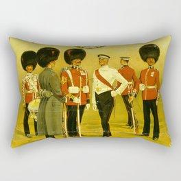 Vintage British Poster Rectangular Pillow
