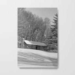 Cabin Metal Print