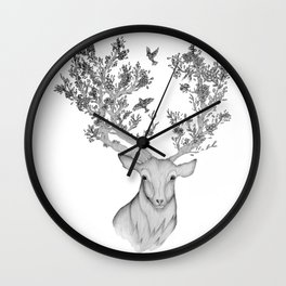The Natural Progression? 1 of 3 Wall Clock