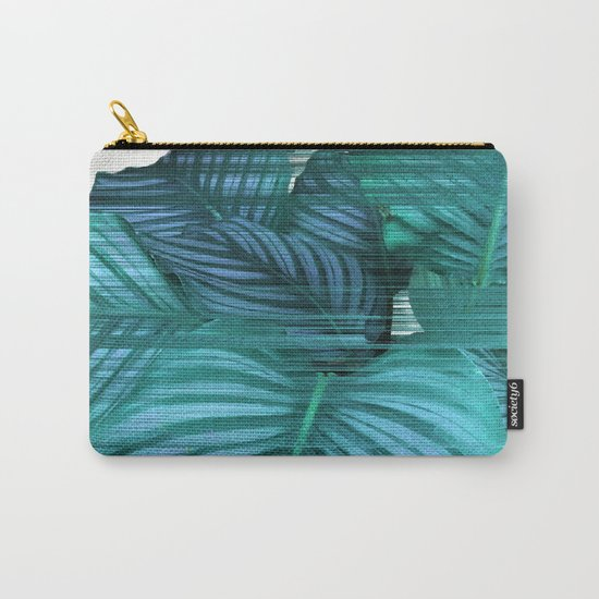 Fast Calathea Carry-All Pouch