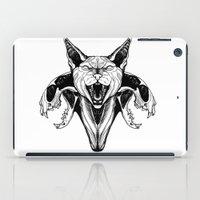 sphynx iPad Cases featuring Sphynx by kitsunebis