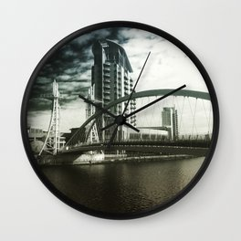 salford quays Wall Clock