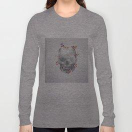 Skull & Butterflies Long Sleeve T-shirt