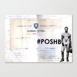Poshboy Canvas Print