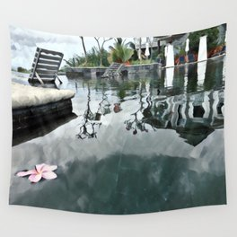 Pool of Peace Wall Tapestry