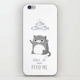 Hungry Cat iPhone Skin