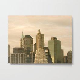 Manhattan from Brooklyn Metal Print