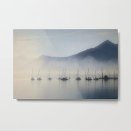 Calm In The Harbor Metal Print