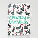 Meowy Christmas – Mint Type by catcoq
