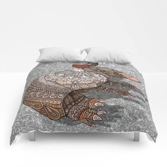 Ornate Armadillo Comforters