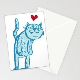 Luuuurv Cat Stationery Cards
