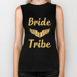 Bride Shirt-Bride Tribe-Personalized T Shirt-Bridal Party shirt-Bachelorette Shirt-Bride Tribe Shirt Biker Tank