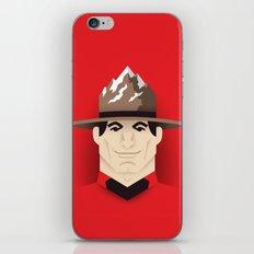 Mountie iPhone & iPod Skin