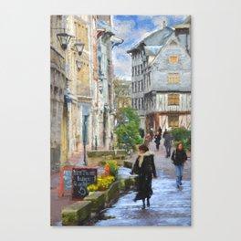 La Femme et les Tulipes Canvas Print