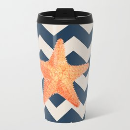 Starfish Summer Travel Mug