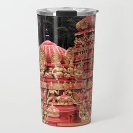 Indian Temple In Sri Lanka Travel Mug