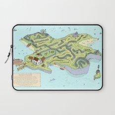 Eagle Island Maze Laptop Sleeve