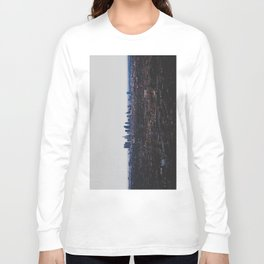 Los Angeles in fog Long Sleeve T-shirt