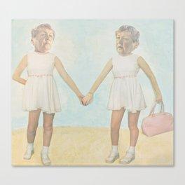 Tweedle Dee and Tweedle Duh Canvas Print