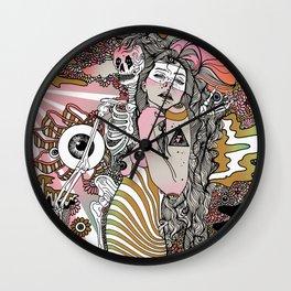 Eye Tried Wall Clock