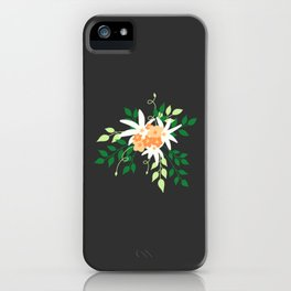 Lily Bouquet iPhone Case