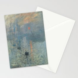 Claude Monet's Impression, Soleil Levant Stationery Cards