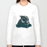 garrus Long Sleeve T-shirts featuring Garrus by Cat Milchard