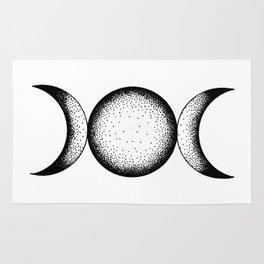 Triple Moon Rug