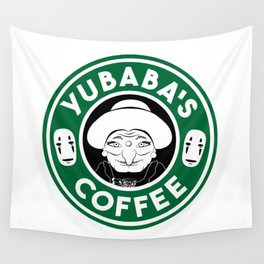 Yubaba's Coffee Wall Tapestry