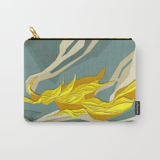 Abstract island Carry-All Pouch