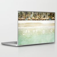 forever young Laptop & iPad Skins featuring Forever Young by Jenndalyn