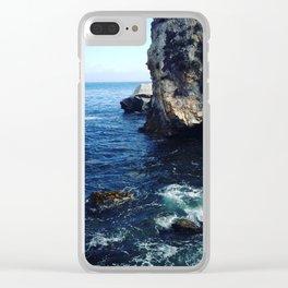cali ocean Clear iPhone Case