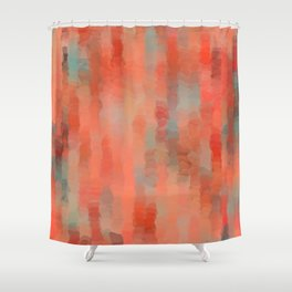 Coral Mirage Shower Curtain